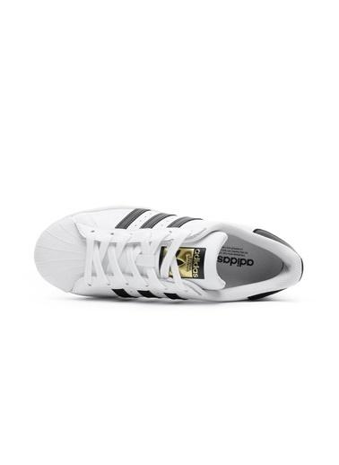 adidas Unisex Superstar Spor Ayakkabı EG4958.Beyaz Beyaz
